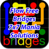 Flow Bridges 7x7 Mania Solutions
