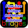 Flow Bridges 8x8 Mania Solutions