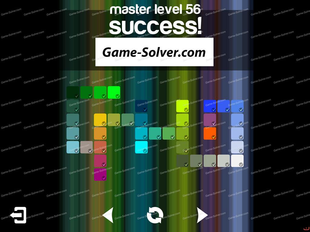 Blendoku master pack level 56 game solver for Level master