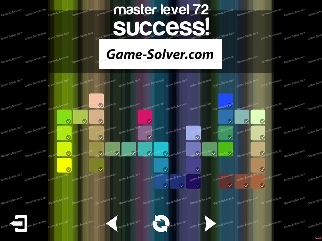 Blendoku master pack level 72 game solver for Level master