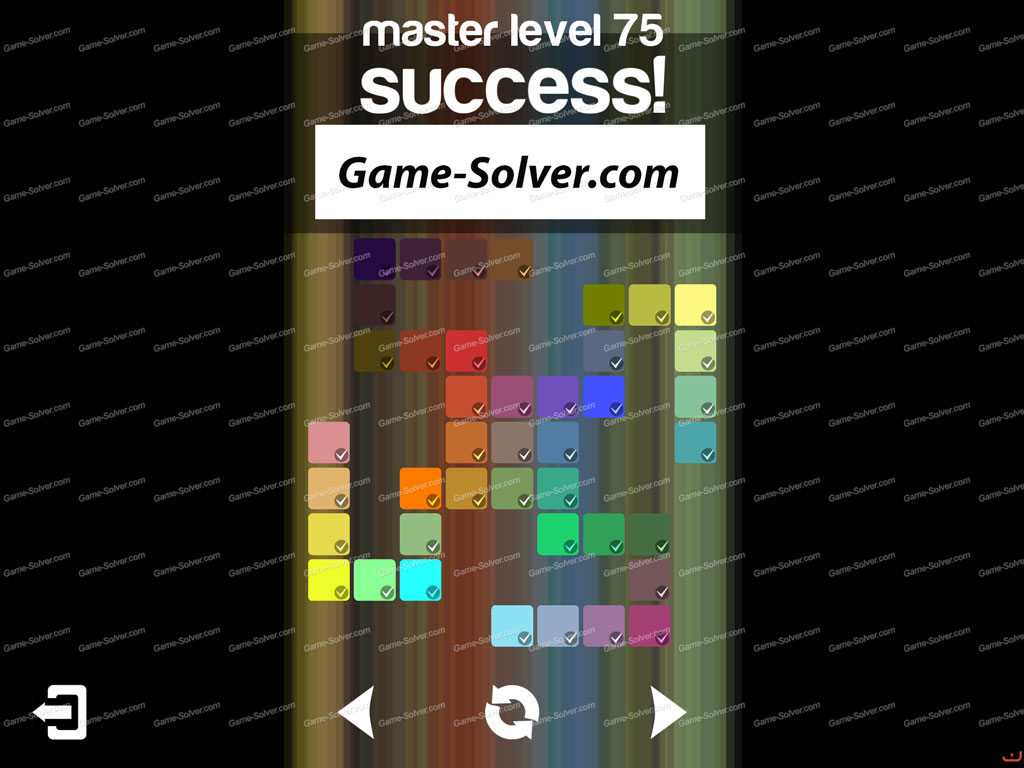 Blendoku master pack level 75 game solver for Level master