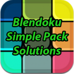 Blendoku Simple Pack Solutions