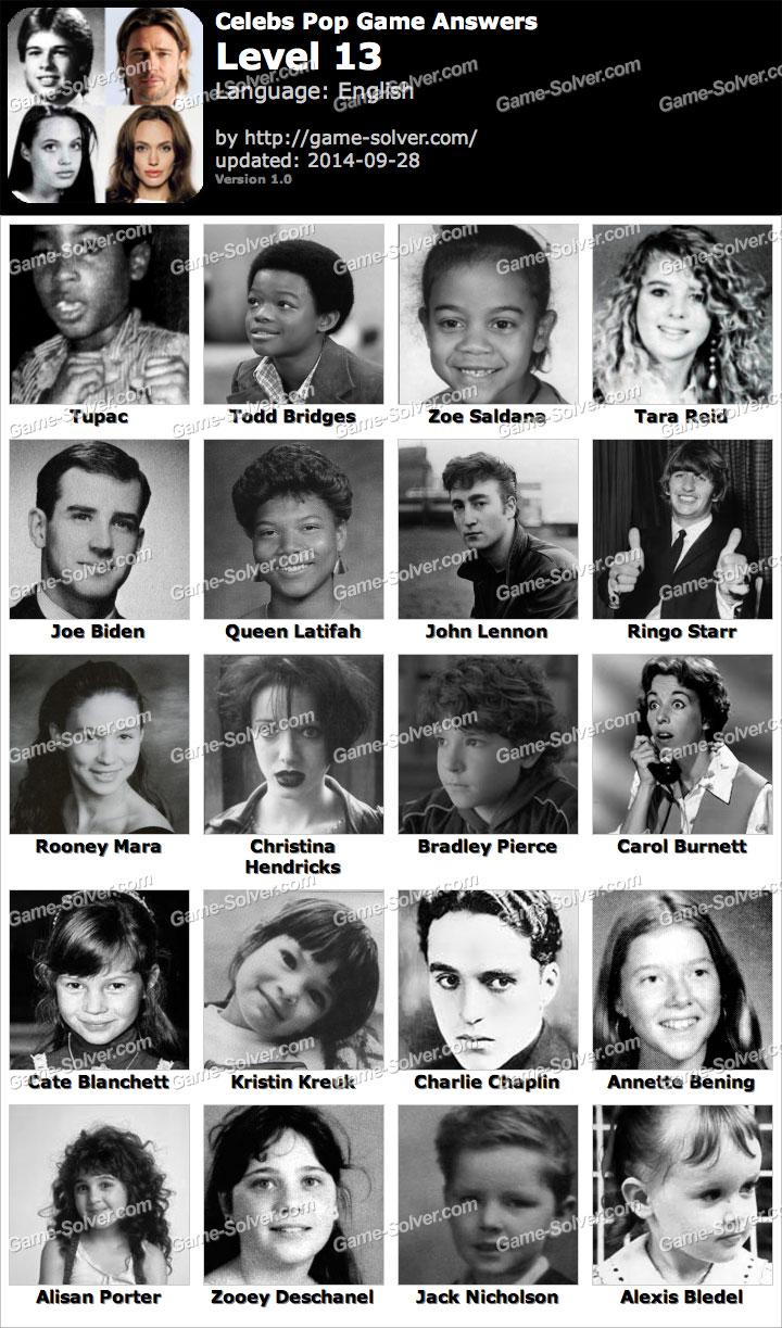 Celebrity pop level 17