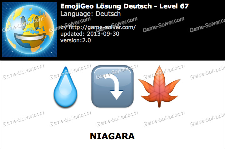 EmojiGeo Deutsch Level 67