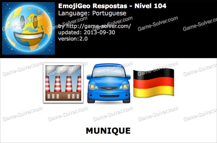 Emojigeo portuguese n 237 vel 104 game solver