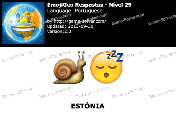 EmojiGeo Portuguese Nível 29