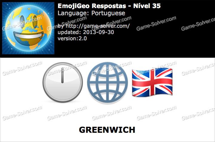 EmojiGeo Portuguese Nível 35