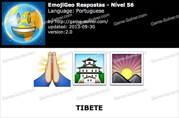 EmojiGeo Portuguese Nível 56