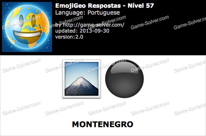 EmojiGeo Portuguese Nível 57