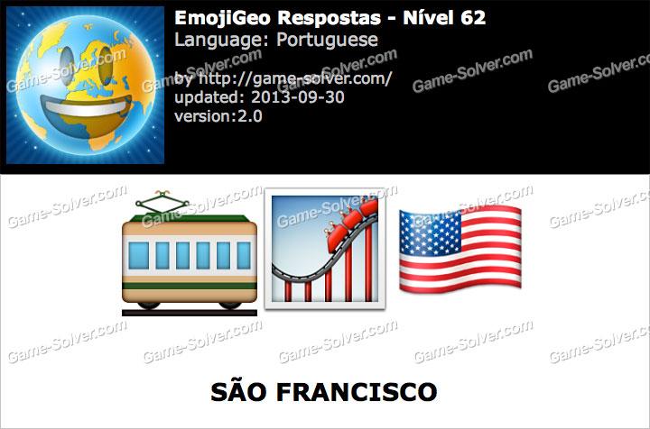 EmojiGeo Portuguese Nível 62