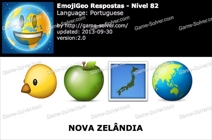 EmojiGeo Portuguese Nível 82
