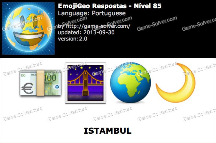 EmojiGeo Portuguese Nível 85