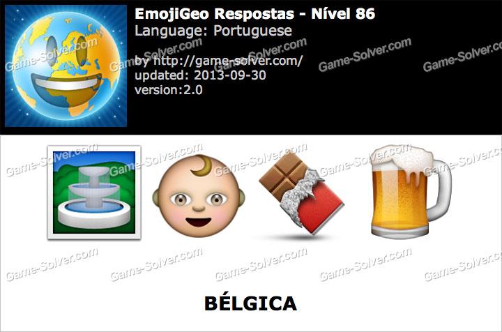 EmojiGeo Portuguese Nível 86