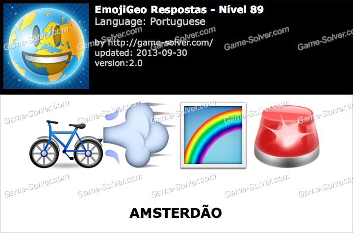EmojiGeo Portuguese Nível 89