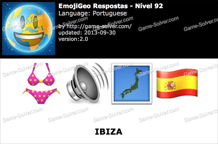 EmojiGeo Portuguese Nível 92
