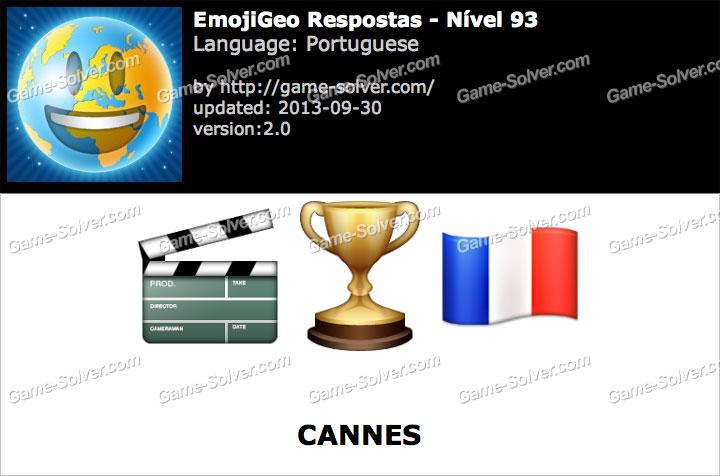 EmojiGeo Portuguese Nível 93