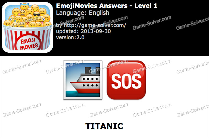EmojiMovies Level 1