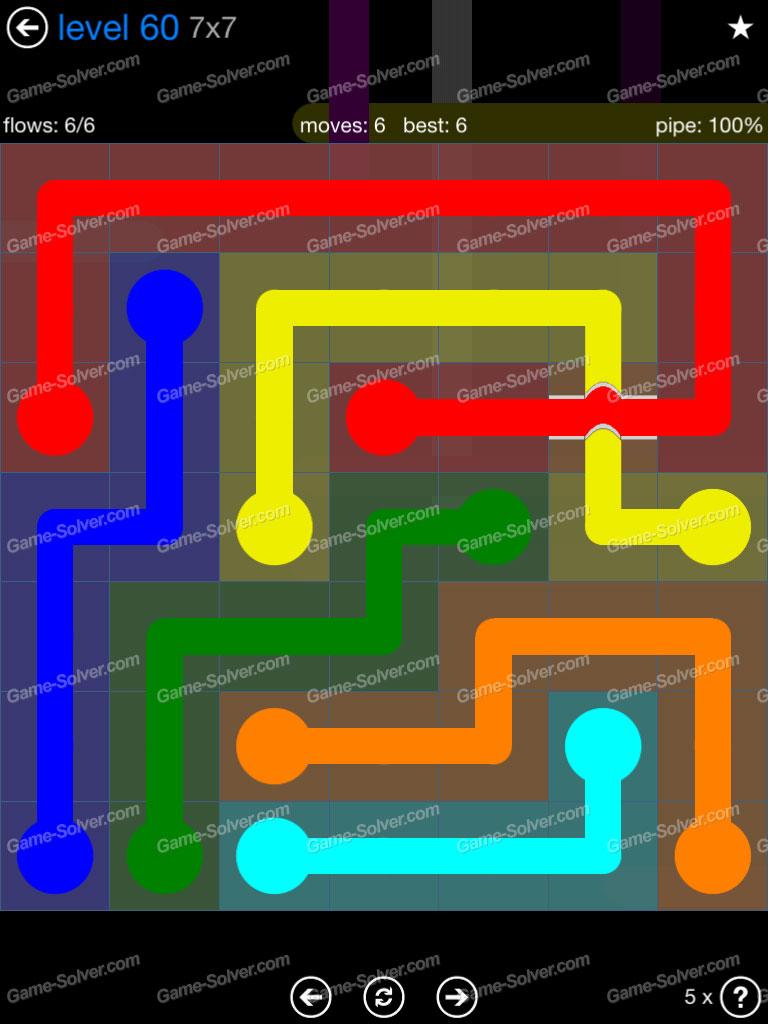 Flow Bridges Challenge Pack 7x7 Level 60