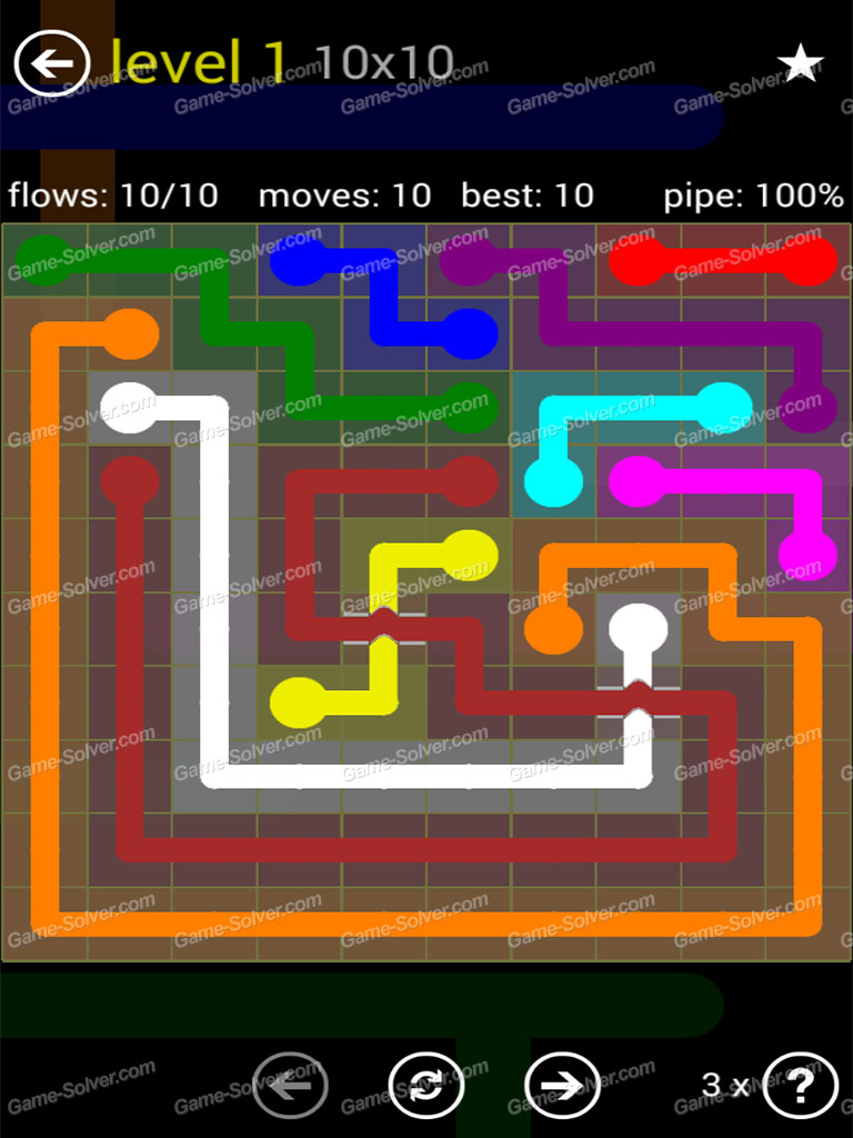 Flow Bridges Yellow Pack 10x10 Level 1