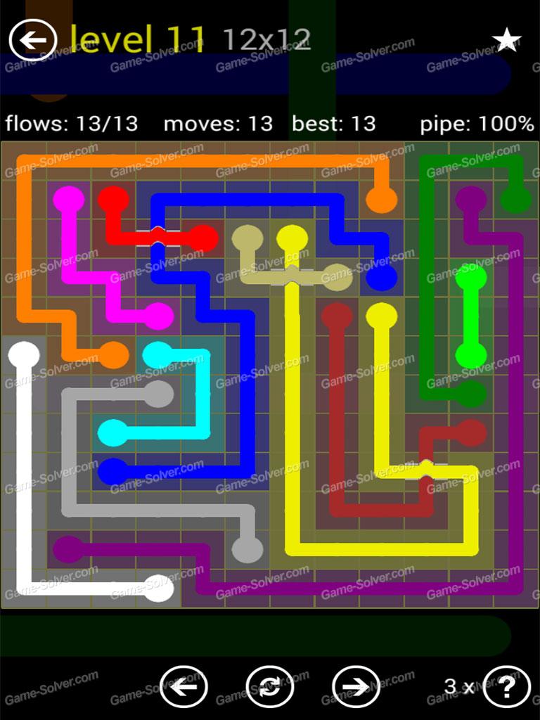 Flow bridges yellow pack 12×12 level 11