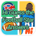 Hi Guess the Football Star Answers