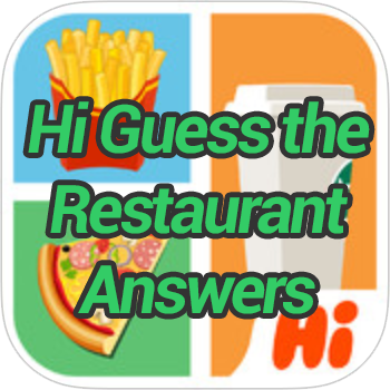 Guess The Food Answers Restaurant