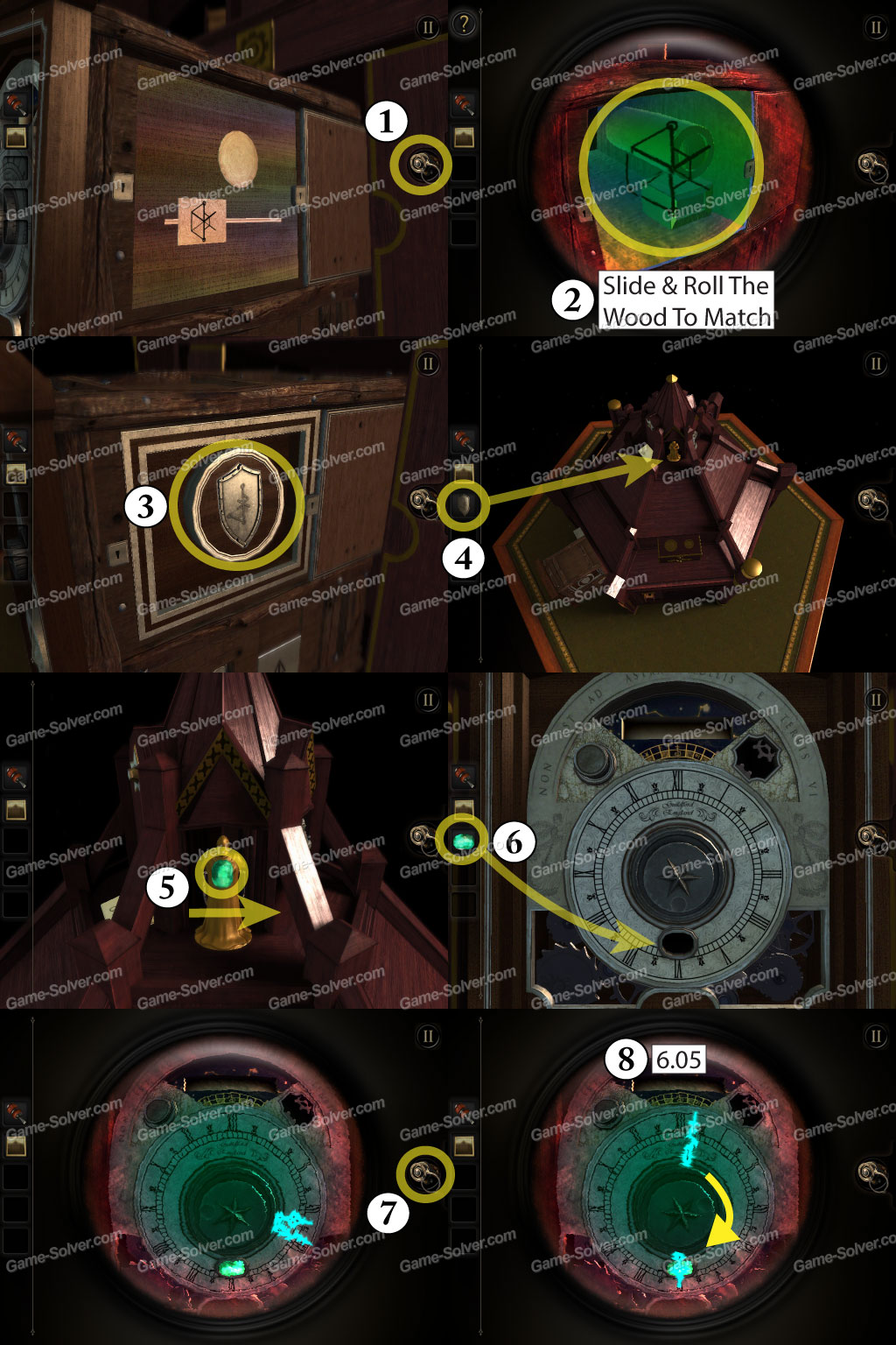 Escape from the room with the device walkthrough solution cheats - The Room Walkthrough Chapter 2 E