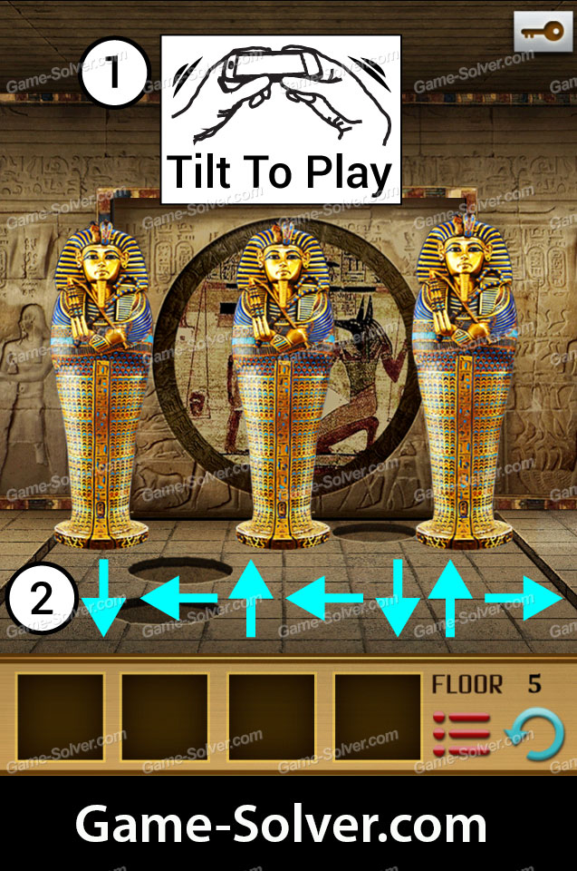 100 Floors World Tour Egypt Pack Level 5 Game Solver