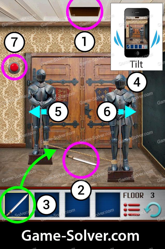 100 Floors World Tour Uk Pack Level 3 Game Solver