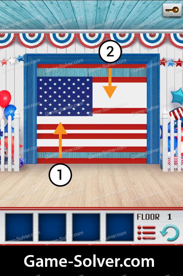 100 Floors World Tour Usa Pack Walkthrough Game Solver