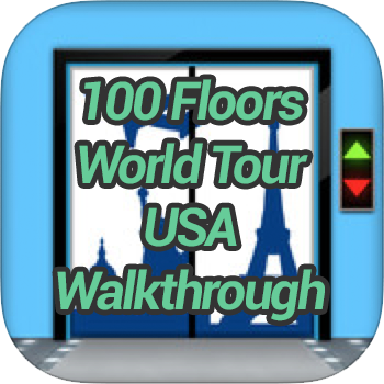 100 Floors World Tour Usa Pack Level 8 Game Solver