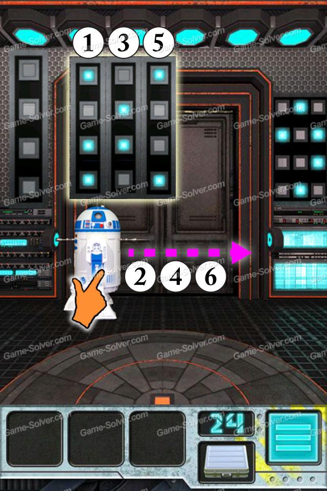 100 Doors Aliens Space Level 24