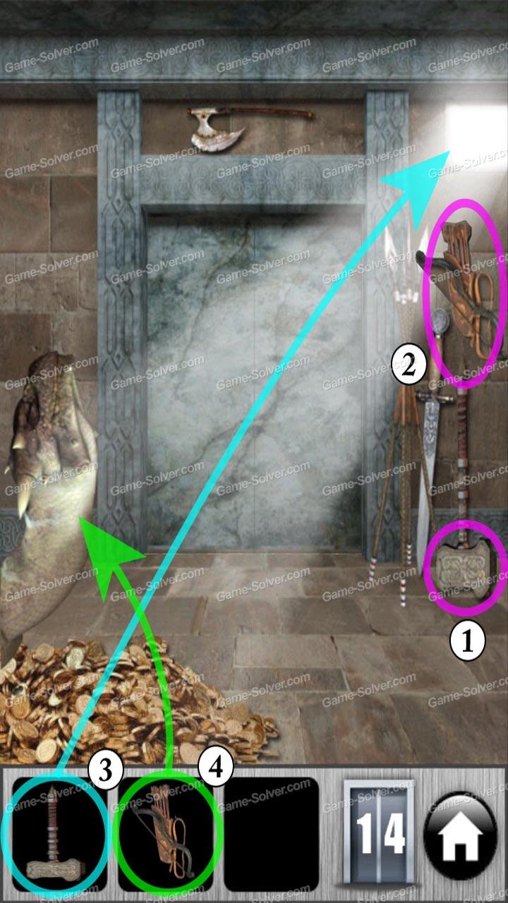 100 doors of revenge level 14 game solver for 100 door of revenge