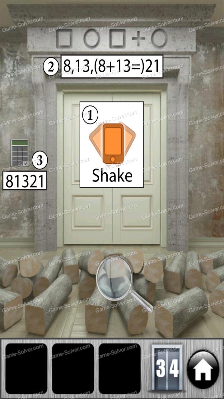 100 Doors of Revenge Level 34 & 100 Doors of Revenge Level 34 - Game Solver