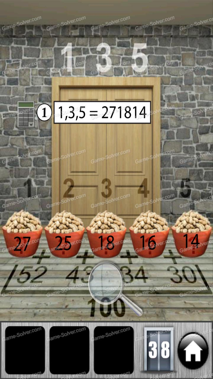 100 doors of revenge level 38 game solver