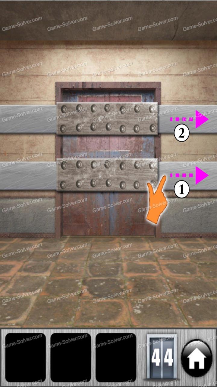 100 Doors of Revenge Level 44 & 100 Doors of Revenge Level 44 - Game Solver pezcame.com