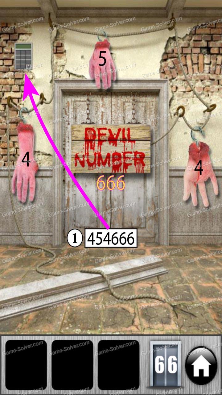 100 doors of revenge level 66 game solver for 100 door of revenge