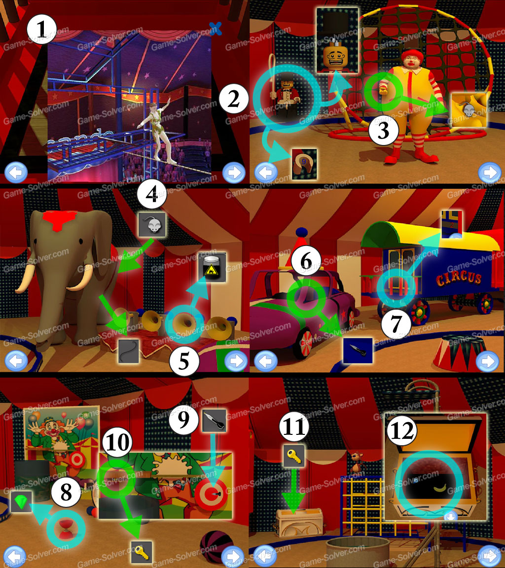 Circus Tent Escape Part 1