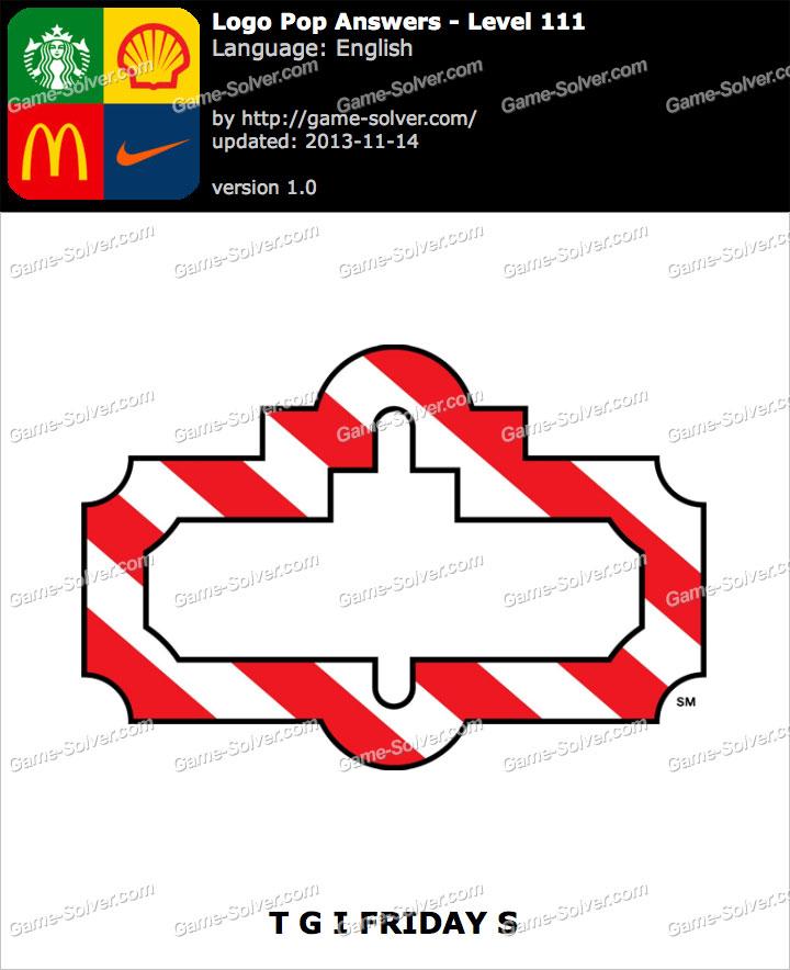 logo pop level 111 game solver