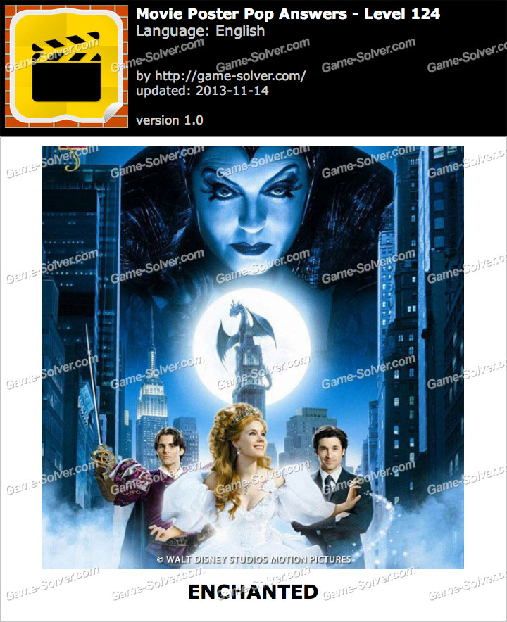 movie poster pop level 124