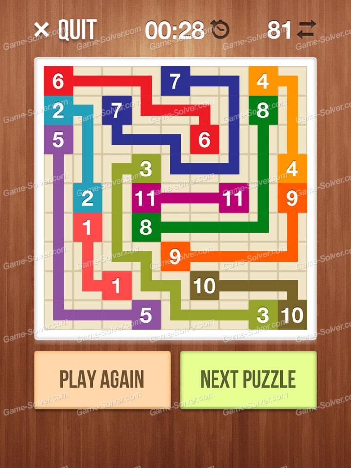 number link crossing lines level 26 game solver