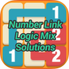 Number Link Logic Mix Pack Solutions