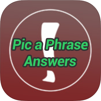 Pic-a-Phrase-Answers