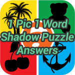 1 Pic 1 Word Shadow Puzzle Answers