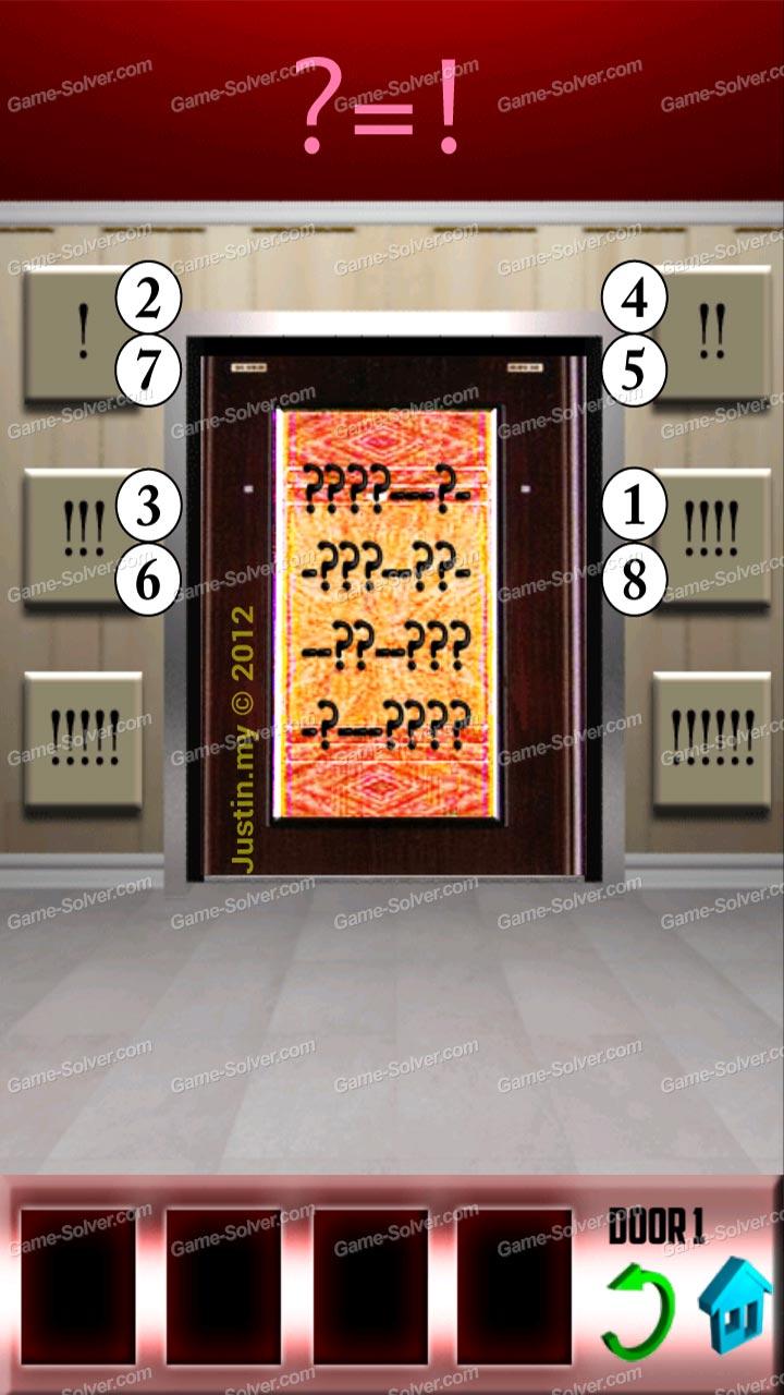 100 doors level 19 game solver for 100 door walkthrough