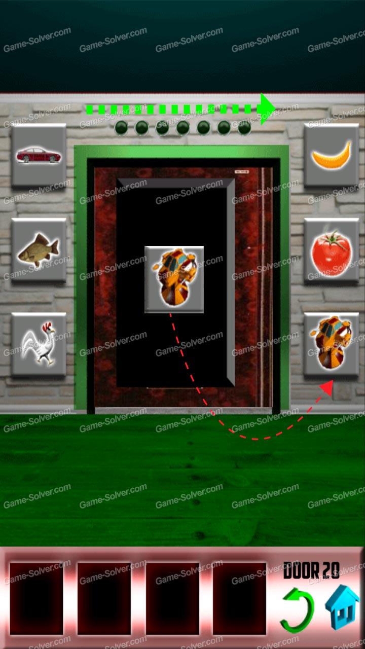100 doors level 20 game solver for 100 door walkthrough