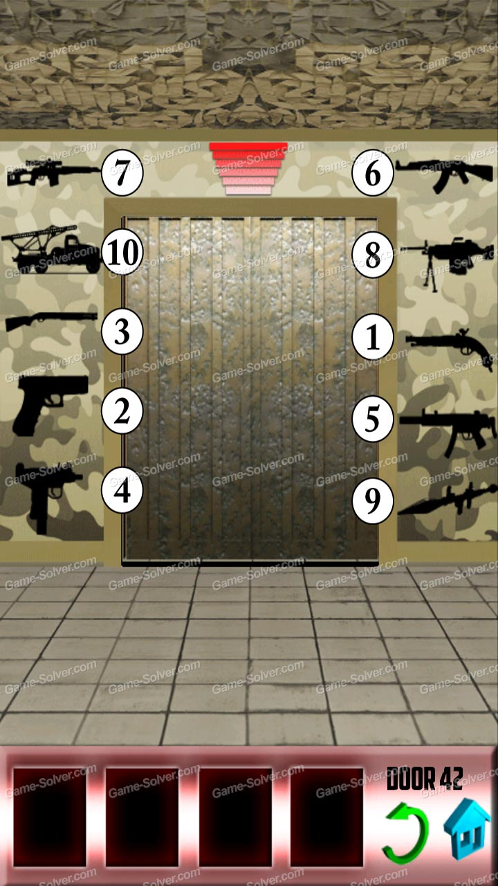 100 doors level 42 game solver