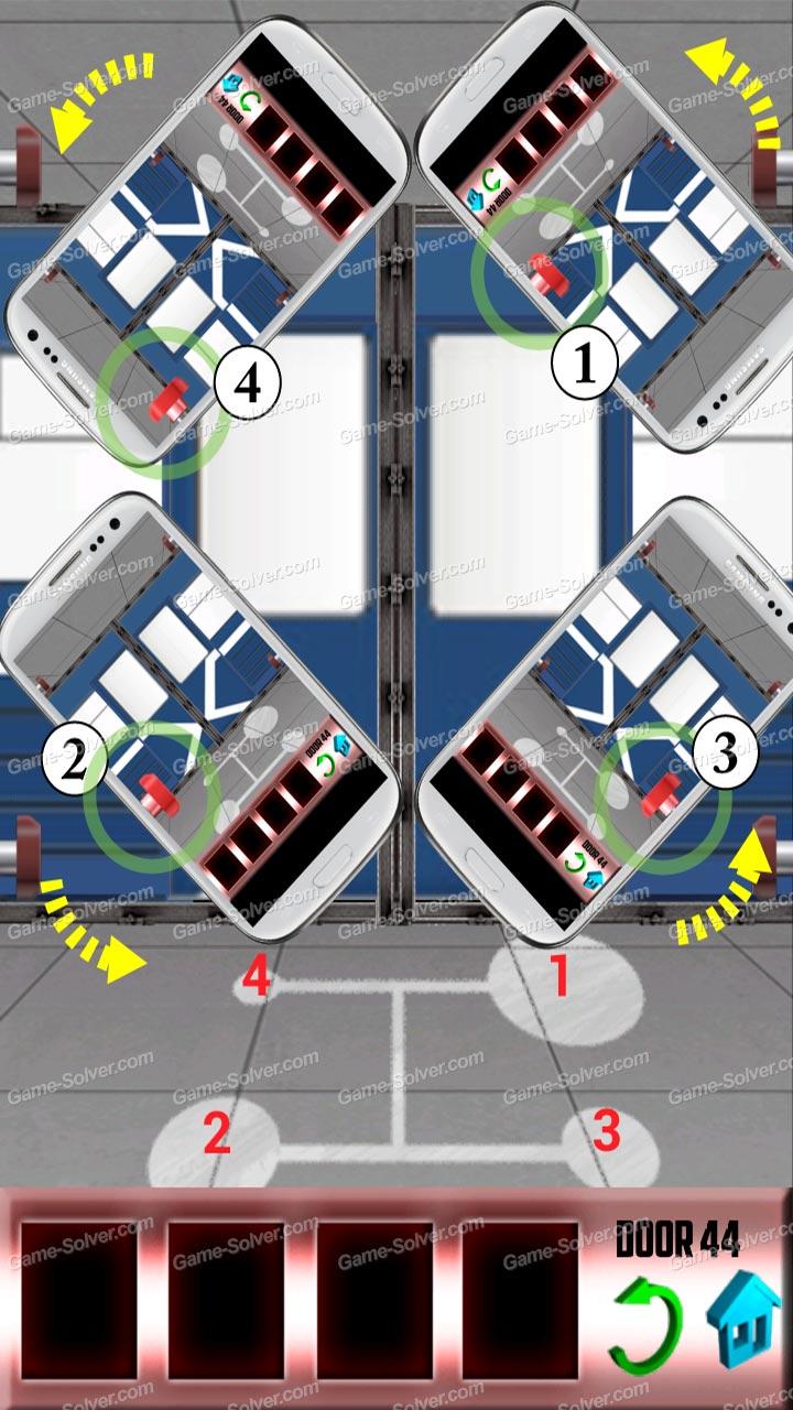 100 Doors Level 44 & 100 Doors Level 44 - Game Solver