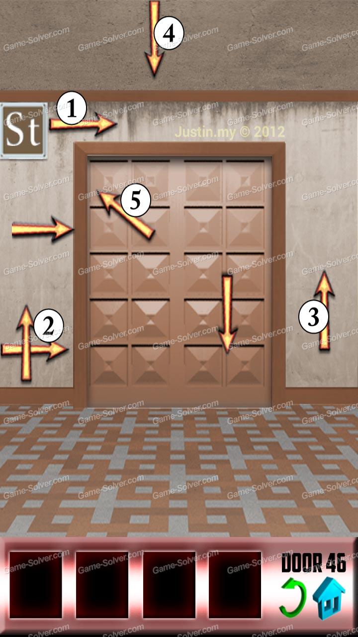 100 Doors Level 46 & 100 Doors Level 46 - Game Solver