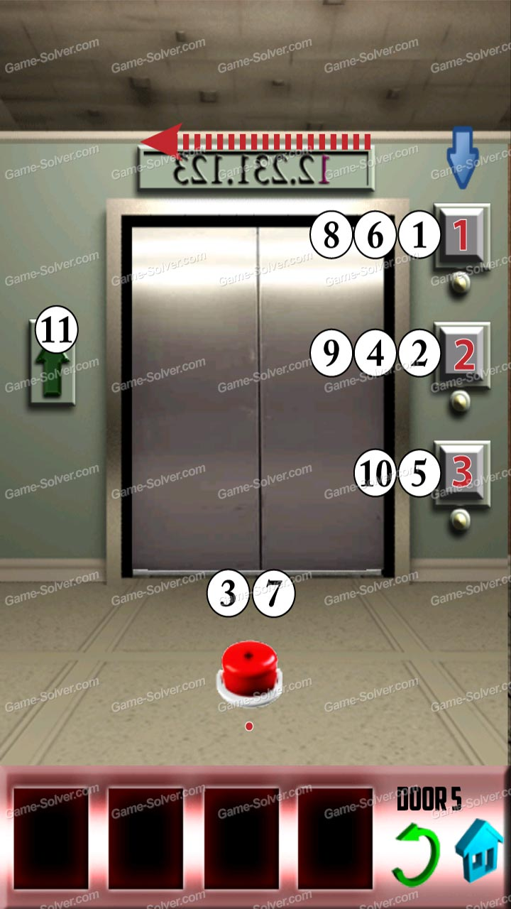 100 doors level 51 game solver